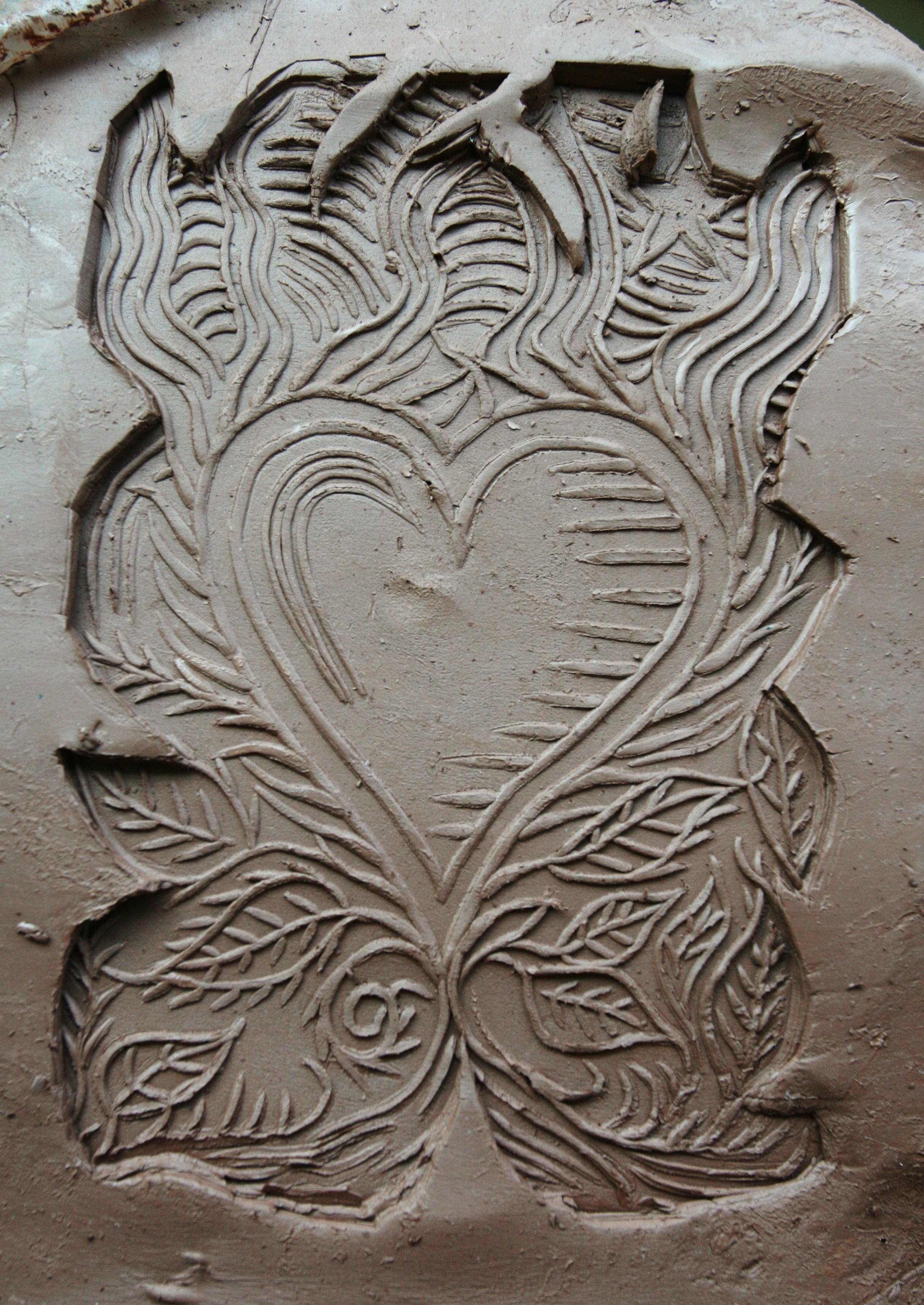 Incorporating Block Printing Into Concrete Michael Eddy